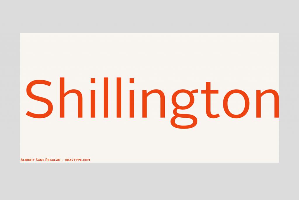 Олрайт Санс шрифт   Alright Sans font - Metodiev Design.