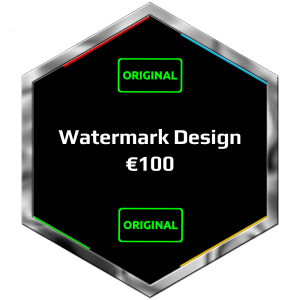 Watermark Design - Metodiev Design.